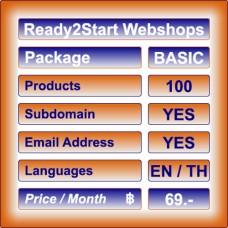 Ready2Start Webshop BASIC