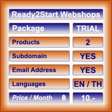 Ready2Start Webshop TRIAL